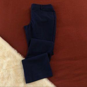Express navy/cobalt columnist work trousers sz.6